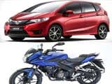 Honda Jazz Review and Exclusive Look at Bajaj Pulsar Evolution