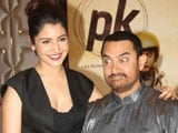 Video: Aamir, Anushka Blow PK Trumpets at Film's Success Party