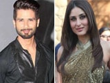 Kareena Congratulates Shahid for Being in a