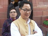 Video : To Accommodate Union Minister Kiren Rijiju, Air India Offloaded 3, Including Child