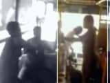 बेंगलुरु में बस नहीं रोकी गई, तो ड्राइवर और कंडक्टर की कर दी पिटाई