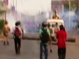 Video : इम्फाल में पुलिस-प्रदर्शनकारियों में फिर झड़प