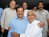 Video : Meeting No 4. Kejriwal and Nitish Kumar Continue Swapping Favours