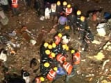 Video : 5 Dead, More Trapped in Thane Building Collapse