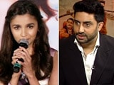 Video: Alia on Her Shaandaar Character, Abhishek on Sholay