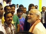 Video : PM Modi Interacts With 300 Indian Workers in Abu Dhabi