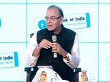 Mahindra, Ambani Quiz Finance Minister Arun Jaitley on Economy