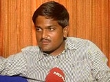 Video : 'Our Movement is Non-Violent, It Will Intensify,' Hardik Patel Tells NDTV