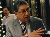 'N. Srinivasan Behaved as if he is Still the Boss of BCCI'
