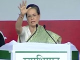 Video : Sonia Gandhi Hits Back at PM Modi's DNA Comment in Patna Rally