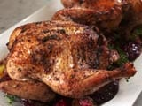 Video : Roast Chicken With Plums