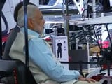 Video : PM Modi Takes A Ride In Tesla's Electric Car Factory