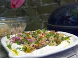 Video : Charred Shallots With Labneh