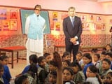Video: Amitabh Bachchan Dons the Teacher's Hat for Swachhta Ki Pathshala