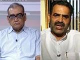 Video : 'Hang Netas,' Says Justice Markandey Katju; 'You're The Idiot,' Says BJP Minister