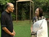 Video : Walk The Talk With Najma Heptulla, Union Minority Affairs Minister