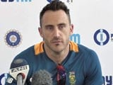 We Have Given India Confidence, Says Faf du Plessis
