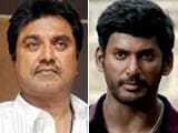 Video : Actors Sarath Kumar, Vishal Lock Horns