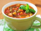 Indian Style Minestrone Soup