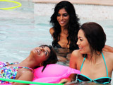 <i>Kingfisher Supermodels 3</i>: Models Make Confessions in a Swimming Pool