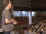 Video : Can't Connect The World Without Connecting India: Mark Zuckerberg