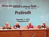 Video: इंडिया 9 बजे : बढ़ती असहिष्णुता पर चिंता जताने के लिए जुटे बुद्धिजीवी