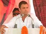 Videos : राहुल बोले, पीएम मोदी का नया नारा है दाल-रोटी मत खाओ, प्रभु के गुण गाओ