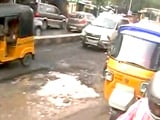 Video: Chennai Roads Riddled With Potholes After 4 Days of Heavy Rain