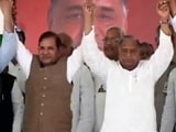 Video : क्या यूपी विधानसभा के लिए साथ आएंगे मुलायम और माया?