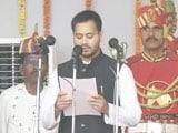 Video: Tejaswi Yadav, Lalu Yadav's Son, Is Deputy Chief Minister At 26