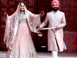 Bride, Groom Meet Each Other for First Time on Band Baajaa Bride's Set