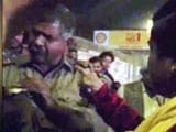 Video : AAP Lawmaker Booked for 'Misbehaving' with Police Official