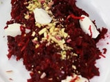 Video : Beetroot Halwa with Mascarpone Cheese