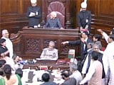 Video : Opposition Disrupts Rajya Sabha Over VK Singh's Dog Remark, RSS Chief