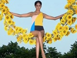 Video : Kingfisher Supermodels Perform Aerial Task With Grace, Poise
