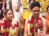 Video : A Wedding the Chennai Floods Could not Wash Out