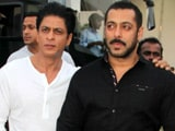 Salman, SRK's Kodak Moment on <i>Bigg Boss</i> Sets