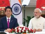 Videos : बुलेट ट्रेन सहित भारत और जापान के बीच हुए कई अहम समझौते