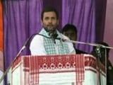 Video : 'Assam Will Repeat Bihar For BJP', Says Rahul Gandhi