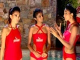 Kingfisher Supermodels Push Their Limits