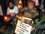 नाबालिग गुनहगार की रिहाई के खिलाफ विरोध प्रदर्शन