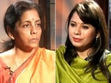 Video : Credit Rate Can Be Cheaper for MSMEs: Nirmala Sitharaman