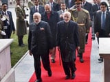 Video : Warm Welcome For PM Modi As He Arrives In Kabul