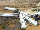 Video : Freight Train Derails in Australia