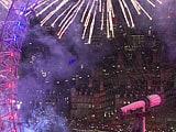 Video : Fireworks Over London Usher in 2016