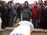 Video : Break From Custom; Daughter Who Carried Pathankot Martyr's Coffin