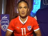 Sunil Chhetri Says India Team Better Than Rankings