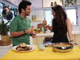 Chef Kunal Kapur Fixes a Chinese Meal for TV Actor Ankita Bhargava