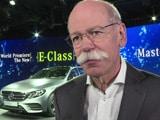 Video : Detroit Auto Show: Mercedes Boss Confident Despite Concerns Over Global Economy