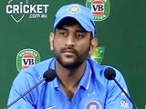Video : After Perth Loss, MS Dhoni Says Spinners Could Have Done Better